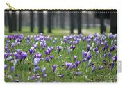 Spring Flowering Crocuses Carry-all Pouch