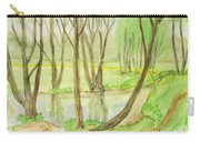 Spring Landscape, Painting Carry-all Pouch