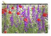 Spring Meadow With Wild Flowers Carry-all Pouch