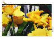 Spring Rain Through Old Glass Carry-all Pouch