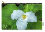 Spring Trillium Carry-all Pouch