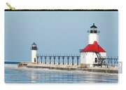 St Joseph North Pier Lights Carry-all Pouch