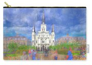 St Louis Cathedral  Carry-all Pouch