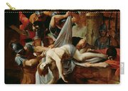 St Sebastian Thrown Into The Cloaca Maxima Carry-all Pouch