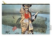 Statue Of Liberty Cartoon Carry-all Pouch