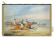 Steeplechasing Henry Thomas Alken Carry-all Pouch