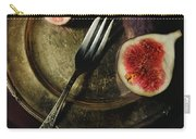 Still Life With Fresh Figs Carry-all Pouch