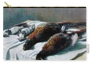 Still Life With Pheasants And Plovers Carry-all Pouch