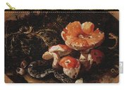 Still Life With Serpents, Fly Agarics And Thistles Carry-all Pouch
