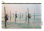 Stilt Fishermen - Sri Lanka Carry-all Pouch