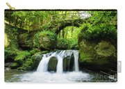 Stone Bridge Over River Carry-all Pouch