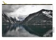 Storm In The Fiord Carry-all Pouch