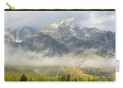 Storm On Grand Teton Carry-all Pouch