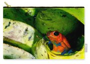 Strawberry Poison Dart Frog Carry-all Pouch