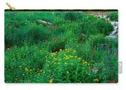 Stream And Alpine Flowers, Ouray Carry-all Pouch