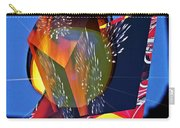 Street Light And Fireworks As Art Carry-all Pouch