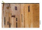 Street Sceane Mdina,malta Carry-all Pouch