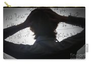 Student Holding His Head Looking At Complex Math Formulas On Whiteboard Carry-all Pouch