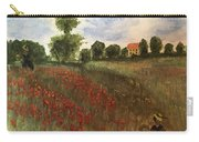 Study Of Monet Carry-all Pouch