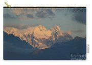 Stunning Landscape In The Italian Alps With A Cloudy Sky  Carry-all Pouch