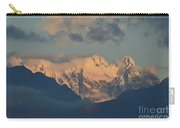 Stunning Landscape View Of The Italian Alps  Carry-all Pouch