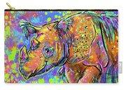 Sumatran Rhino Carry-all Pouch