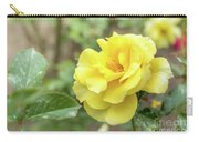 Sun Flare Floribunda Rose, Yellow Rose Originally Produced By T Carry-all Pouch