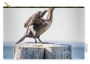 Sunbathing Cormorant Carry-all Pouch