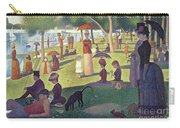 Sunday Afternoon On The Island Of La Grande Jatte Carry-all Pouch by Georges Pierre Seurat