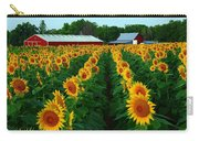Sunflower Field #4 Carry-all Pouch