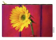 Sunflower In Red Pitcher Carry-all Pouch