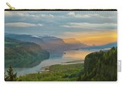 Sunrise At Columbia River Gorge Carry-all Pouch