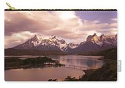 Sunrise In Torres Del Paine Carry-all Pouch