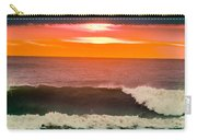 Sunrise Kissing Surf Carry-all Pouch