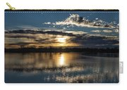 Sunrise Reflections On The Great Plains Carry-all Pouch