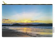 Sunrise Seascape And Crepuscular Rays Carry-all Pouch