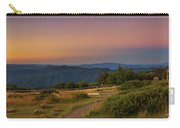 Sunset Above Craigs Hut  In The Victorian Alps, Australia Carry-all Pouch