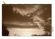 Sunset And Clouds Carry-all Pouch