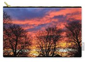 Sunset And Filigree Carry-all Pouch