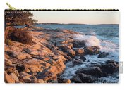 Sunset At Ocean Point, East Boothbay, Maine  -230204 Carry-all Pouch