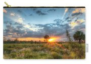 Sunset At The Field Of Dreams Carry-all Pouch