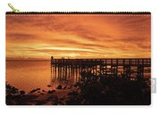 Sunset At The Pier Carry-all Pouch