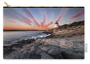 Sunset, Castle Hill Lighthouse  Carry-all Pouch