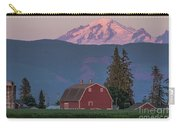 Sunset Reflection On Mt. Baker Carry-all Pouch
