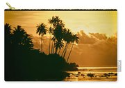 Sunset In Atiha, Moorea, French Polynesia Carry-all Pouch