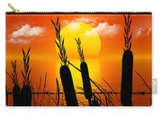 Sunset Lake Carry-all Pouch by Robert Orinski