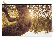 Sunset On A Tree Carry-all Pouch