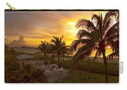 Sunset On Grace Bay Carry-all Pouch