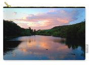 Sunset Over A Lake Carry-all Pouch