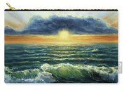 Sunset Over Ocean Carry-all Pouch